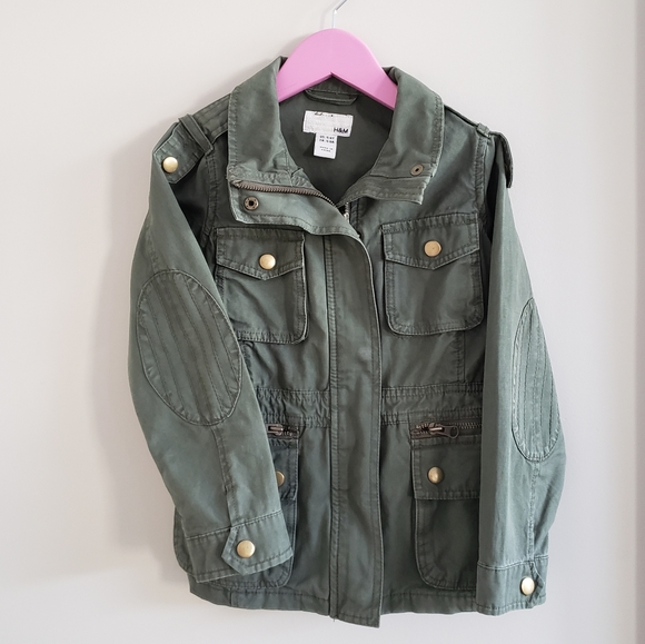 H&M Other - 🍭Girls Military Style Jacket